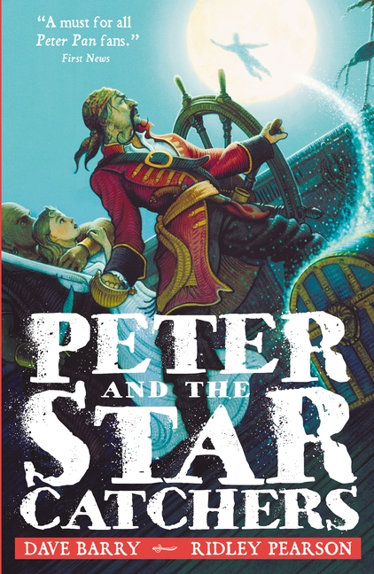 peter and the shadow thieves book report