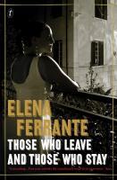 elena ferrante those who leave